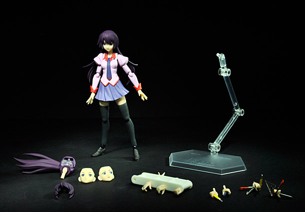 Hitagi Senjougahara and all accessories