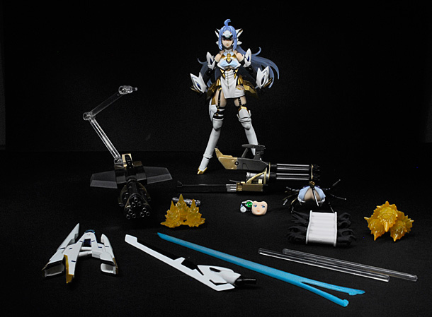 KOS-MOS ver. 4 and all accessories